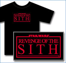 Exclusive Star Wars: Episode III T-Shirt